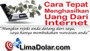 Cara Tepat Cari Uang Di Internet