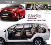 Toyota Calya Se'jabodetabek ...