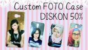 Diskon 50% Custom Foto Case Hp