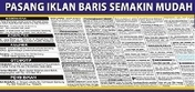 Iklan Baris Koran Se Indonesia