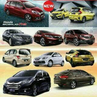 Honda Stock Unit 2016 Diskon Hebat