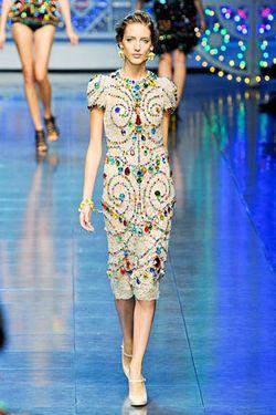 Dolce & Gabbana, Spring/Summer 2012.