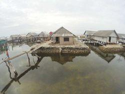 Potret Kampung Pengembara Lautan di Buton