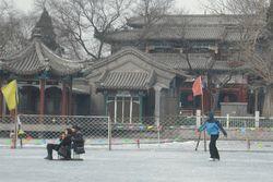 Spot Ice Skating Favorit Turis di Beijing