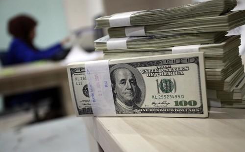 Dolar AS Bergerak di Rp 13.313