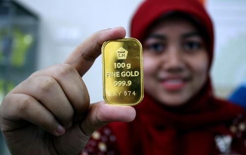 Harga Emas Antam Turun Rp 3.000/Gram