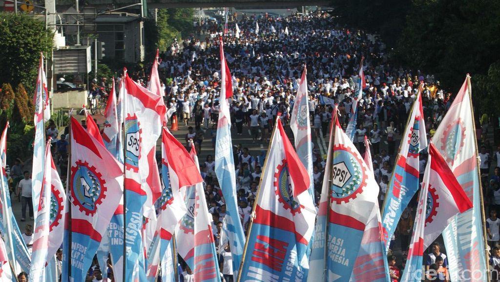 Protes Keras, Buruh Akan Judicial Review PP JHT dan Jaminan Pensiun