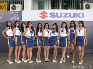 Akhir Tahun, Suzuki Sebar Ribuan Paket Aksesoris dan Motor Hayate