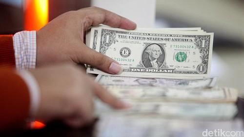 Dolar AS Menguat Lagi, Nyaris Sentuh Rp 13.500