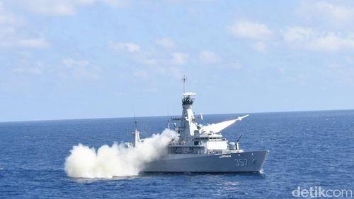 Amankan Ambalat, TNI AU dan AL Gelar Operasi Perisai Sakti