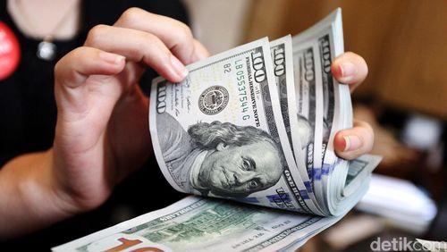 Dolar AS Melemah ke Rp 13.301