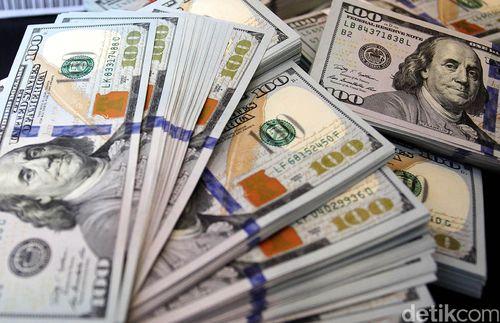 Dolar AS Turun ke Rp 13.150