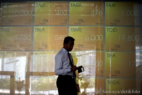 Bursa Asia Hijau, IHSG Dibuka Naik ke 4.883