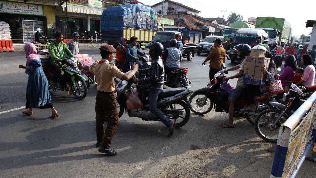 Polri: Ada 910 Titik Kemacetan di Jalur Mudik Pantura dan Selatan