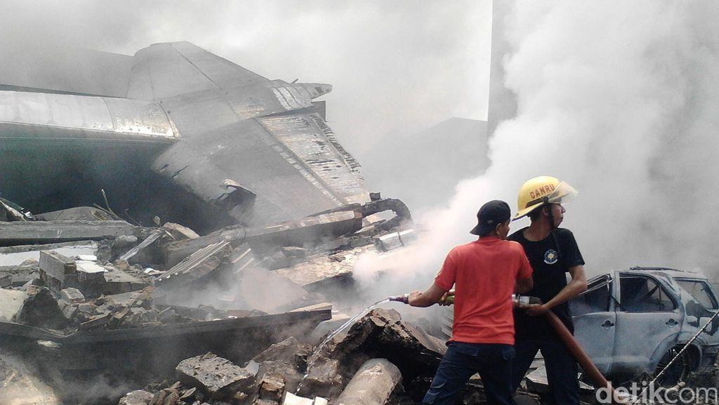 KSAU: 113 Korban Penumpang dan Awak di Pesawat Hercules Meninggal