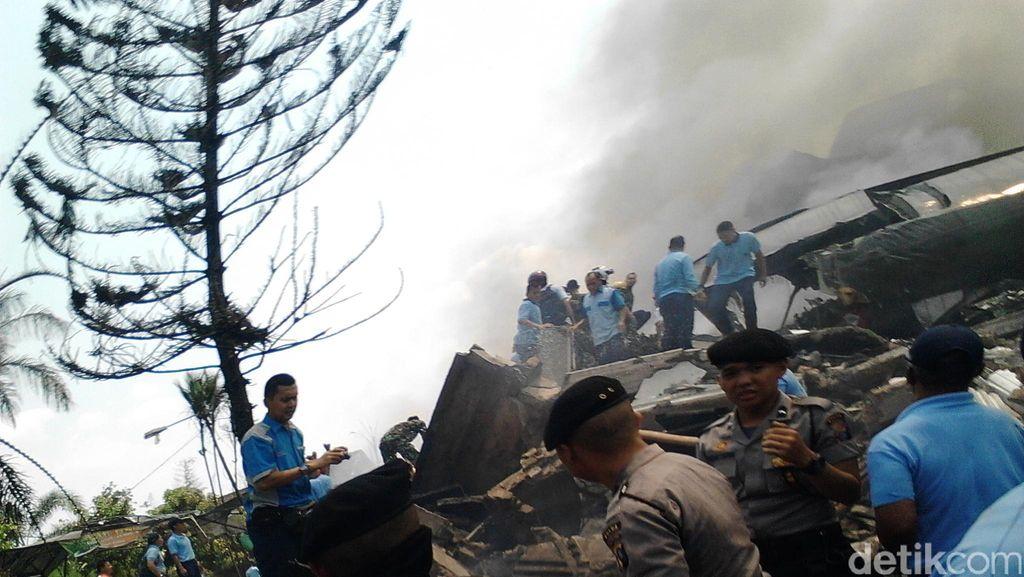 KSAU: Hercules Sempat Ingin Return to Base karena Ada Trouble