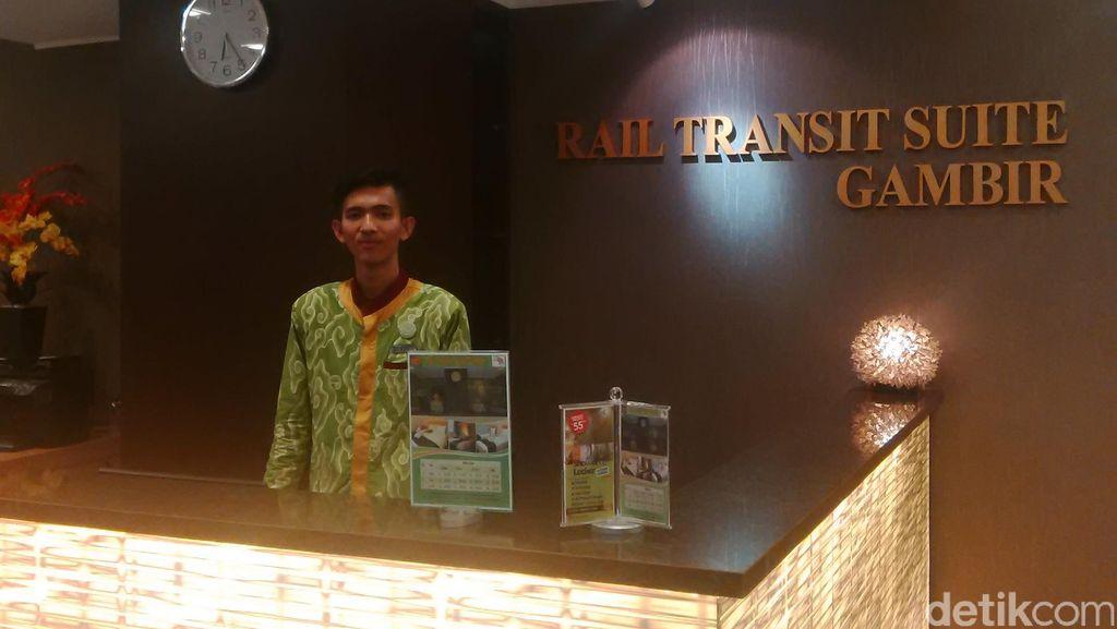 Hotel Transit Bertarif Rp 290 Ribu di Stasiun Gambir Diresmikan