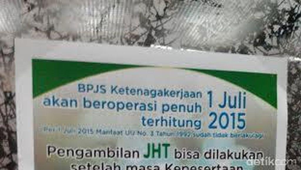 Peserta JHT BPJS Protes, Dijawab Petugas Langsung Hadap Saja ke Jokowi