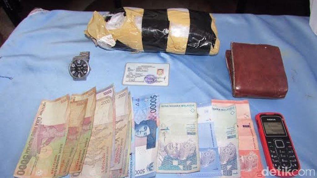 TNI AL Gagalkan Penyelundupan 1 Kg Sabu oleh TKI Ilegal di Batam