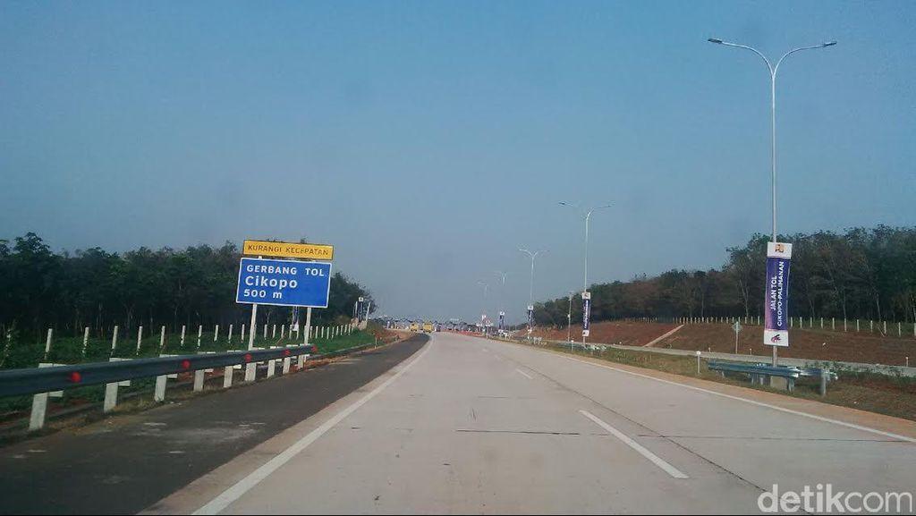 Jalan Lurus dan Panjang Jadi Tantangan Saat Memasuki Tol Cipali