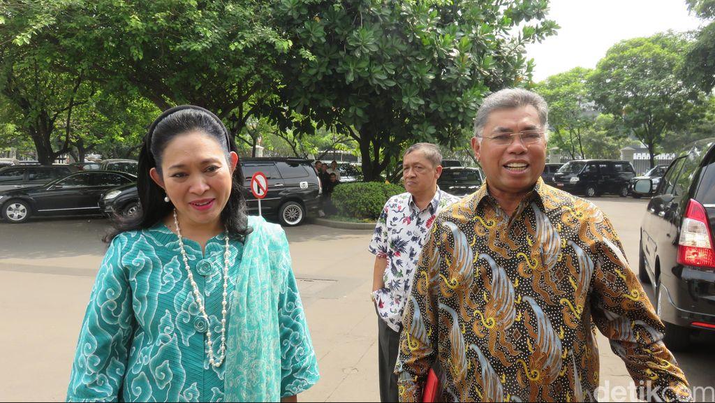 Titiek Soeharto dan Pontjo Sutowo Temui Jokowi di Istana