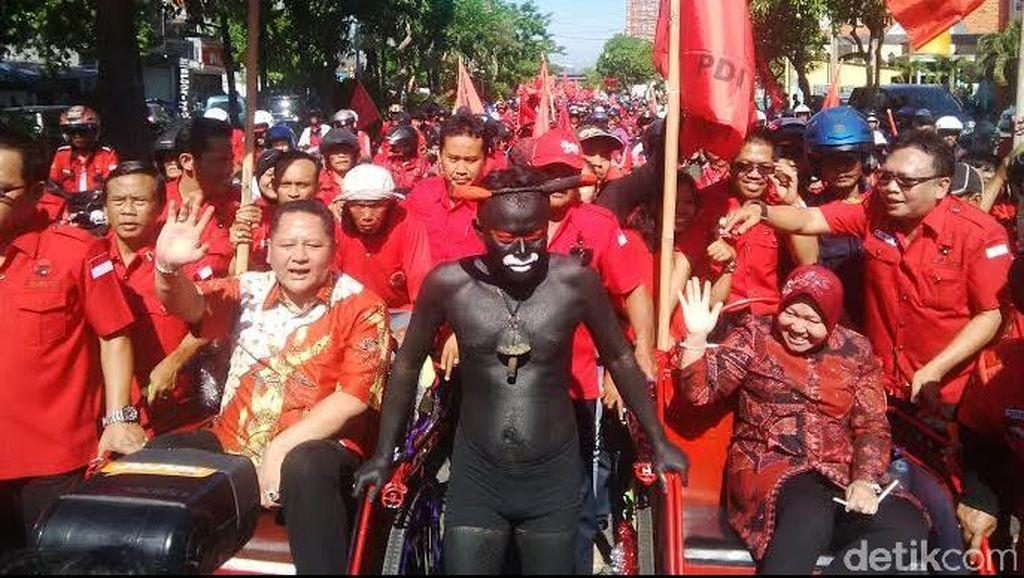 Sesumbar Koalisi Majapahit Tumbangkan Risma di Pilkada