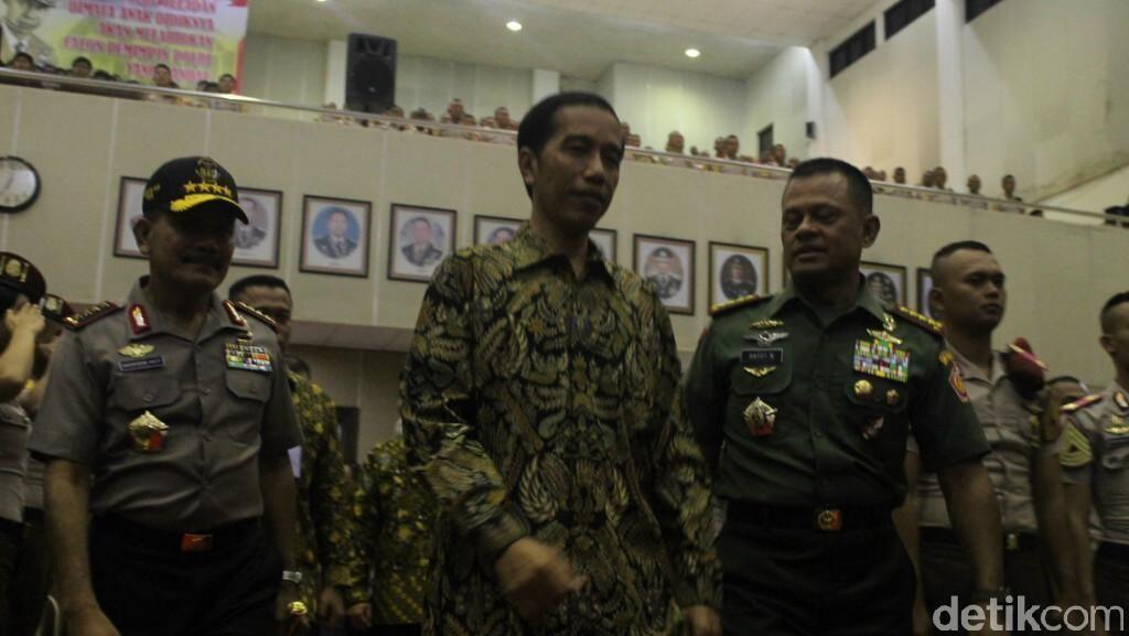 Jaga Kekayaan Indonesia, Pesan Jokowi Kepada Calon Perwira TNI-Polri