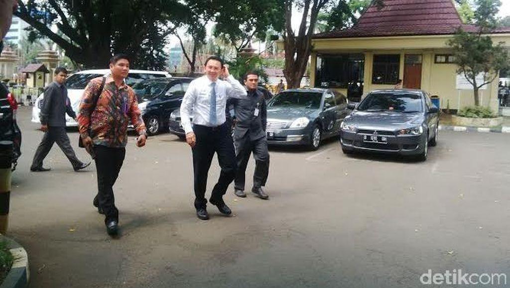 Tiba di Bareskrim, Ahok: Kasus UPS Supaya Cepat Dibawa ke Pengadilan