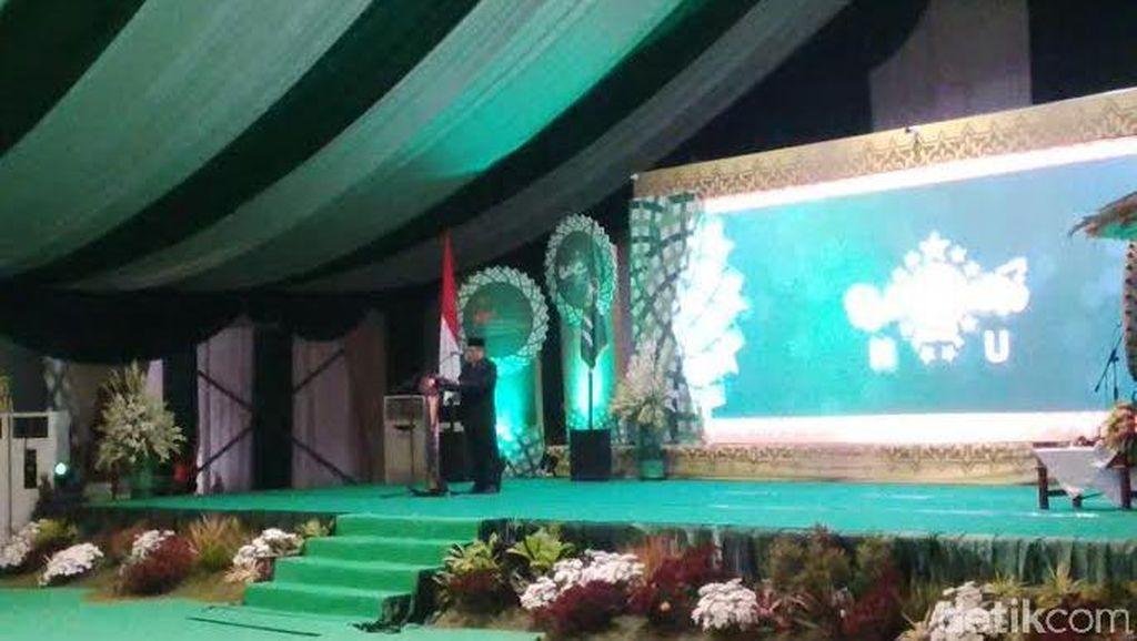 Di Depan Jokowi di Pembukaan Muktamar, Said Aqil: NU Dukung Pemerintah