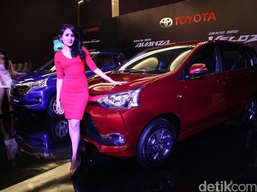 Tahun 2015, Toyota Jual 321.818 Unit Mobil di Indonesia