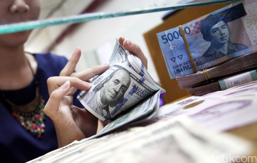 Dolar AS Menguat ke Rp 13.401