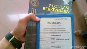 Mudah dan Cepat Membuat SIM Internasional