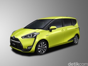 MPV Toyota Sienta Diproduksi di Karawang