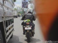 Jepret! Motor Sport Anyar TVS Tertangkap Kamera di Karawang