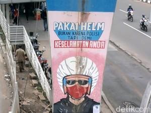 Pakai Helm Bukan Karena Ada Polisi