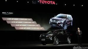 Toyota: Fortuner Mulai Rp 400 Jutaan, Pas Lah di Kantong