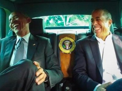Saat Presiden Obama Jadi Bintang Tamu Seri Komedi di Corvette Stingray