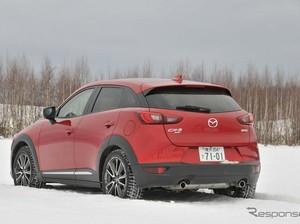 Mazda CX-3 Mampu Taklukkan Cuaca Dingin