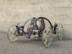 Seperti Spiderman, Robot Mobil Kreasi Disney Ini Bisa Memanjat Dinding