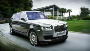 Inikah Tampang Asli SUV Rolls-Royce Cullinan?