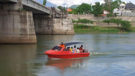 Walikota Kediri Ajak Warga Liburan di Sungai Brantas