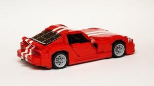 Dodge Viper GTS Ini Terbuat Dari Lego