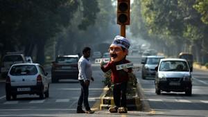 New Delhi Mulai Terapkan Pembatasan Kendaraan