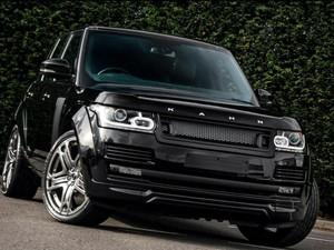 Santorini Black Range Rover