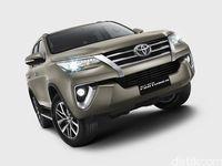 Akan Diluncurkan, Ini Spek Lengkap Toyota Fortuner