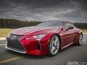 Lexus Perlihatkan Coupe Mewah dan Cantik LC 500