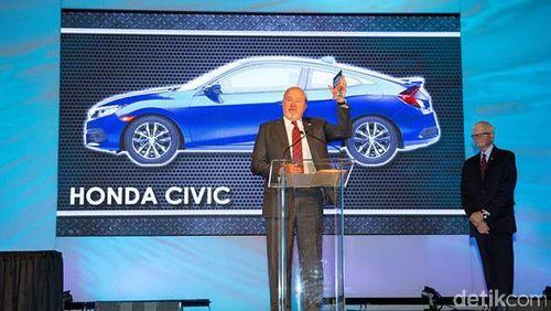 Honda Civic Jadi Mobil Terbaik