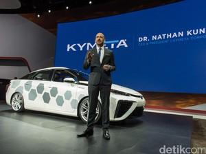 Sistem Koneksi Data Canggih ala Toyota Mirai