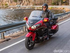 Honda Tarik Ribuan Unit Motor Gold Wing dan Gold Wing Bagger