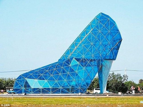 Unik, Gereja di Taiwan Berbentuk Seperti Sepatu Kaca Cinderella